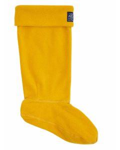 Antique Gold, Joules Welton Fleece Welly Boot Socks