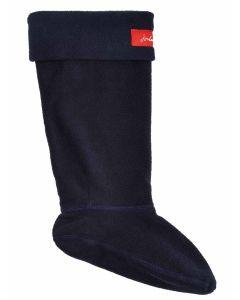 Joules Welton Fleece Welly Boot Socks, Marine Navy 200914