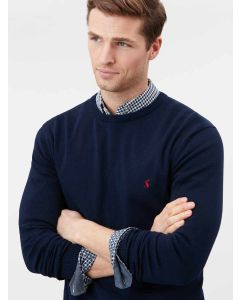 Joules Jarvis Men's Crew Neck Jumper, French Navy