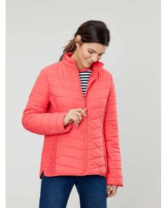 Joules Harrogate Padded Jacket, Poppy 208187