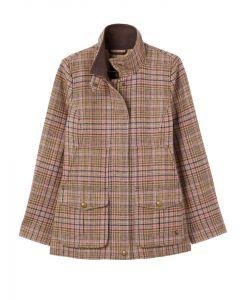 Joules Fieldcoat Tweed Jacket  -  Pink Tweed | 208538
