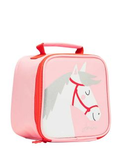 Joules Girls Munch Lunch Bag  -  Pink Horse | 209182