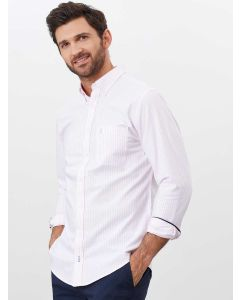 Joules Classic Laundered Oxford Shirt - Pink Stripe | 209410