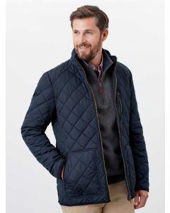 Men's Joules Derwent Quilted Jacket, Navy 209629