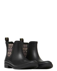 Joules Rutland Rubber Chelsea Boot - Black - 209665