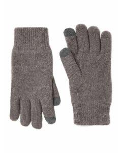 Joules Men's Bamburgh Knitted Gloves, 209706 Grey