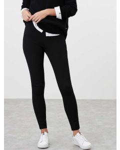 Women's Joules Hepworth Pull-on Stretch Trousers - Black | 209961
