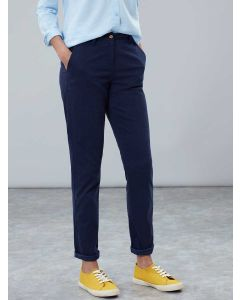 Women's Joules Hesford Chino Trousers  -  French Navy | 210486