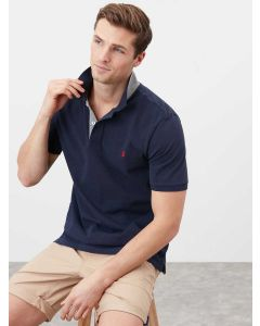 Joules Woody Classic Fit Polo Shirt - French Navy - 211913