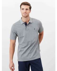 Joules Woody Classic Fit Polo Shirt - Grey Marl - 211913