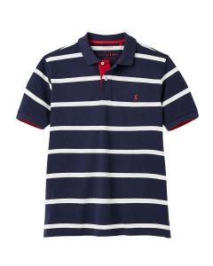 Joules Mens Filbert Polo Shirt - Navy Stripe - 212064