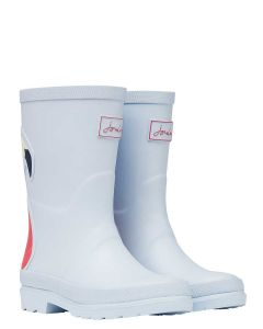 JOULES GIRLS TALL PRINTED WELLIES, YORKSHIRE SKY | 212680