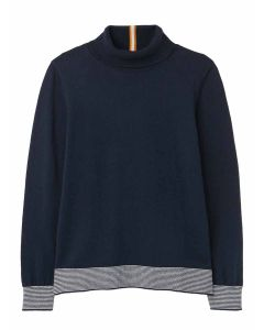 Joules Orianna Roll Neck Jumper,  French Navy   212838