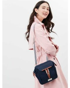 Joules Wells Cross Body Canvas Bag - French Navy   213081
