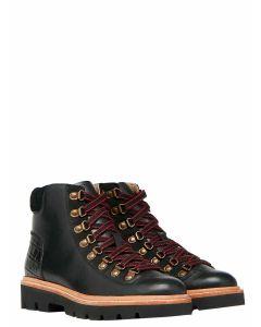 Joules Montrose Lace Up Hiker Boot - Black - 213817