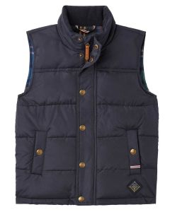 Joules Matchday Country Boys Padded Gilet - Marine Navy - 214227
