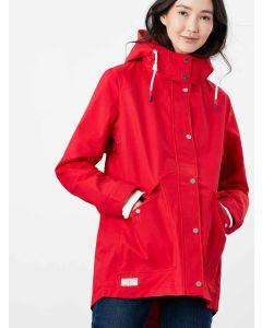 Joules Women's Coast Waterproof Coat - Red - 214680