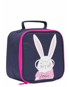 Joules Girls Munch Lunch Bag - Navy Rabbit - 215080