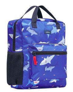 Joules Easton Boys Printed Backpack - Sharks - 215292