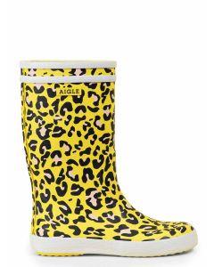 Aigle Children's Lolly Pop Boot, Leopard Print