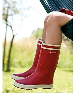 Children's Lolly Pop Boot, Rouge (Red) by Aigle