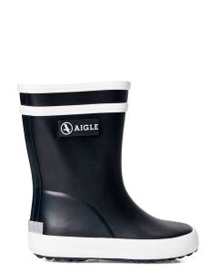 Aigle Baby Flac Welly Boot for Toddlers, Navy Blue