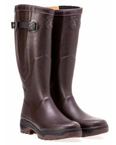 Aigle Parcours Vario 2 Boot with Gusset, Brun