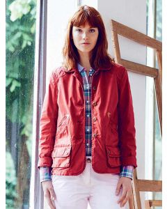 "Women's Casual Cotton Summer Jacket ""Huntingtone"", Carmin"