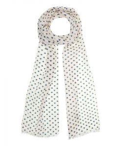 Aigle Flowerly Silk and Cotton Scarf