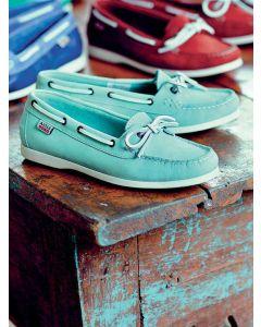 Aigle Women's Americasual W Deck Shoe, Jade