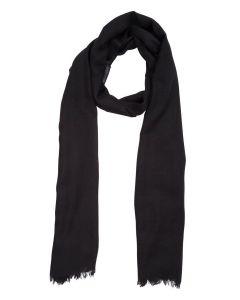 Aigle Woolme Wool Scarf, Noir