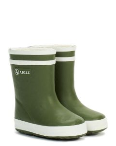 Aigle Kids Fougere Baby Flac Fur - Baby welly boots with fur lining for the winter.