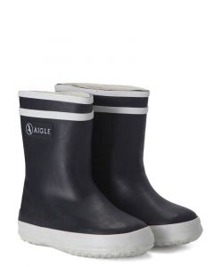 Aigle Kids Navy Blue Baby Flac Fur - Baby welly boots with fur lining for the winter.