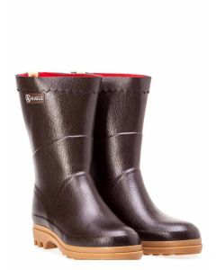 Men's Aigle Bison ISO Welly Boot, Brun