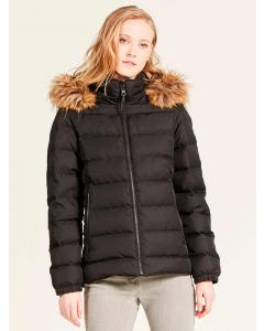 Aigle Rigdown Short Down Puffer Coat, Noir (Black)
