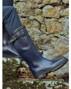 Aigle Women's Reva Wellington Boot - Indigo (Navy Blue)
