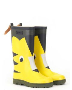 Aigle Children's Woody Pop Fun Welly Boot, Tiger