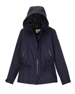 Aigle Retrostarre New Fishtail Parka, Dark Navy