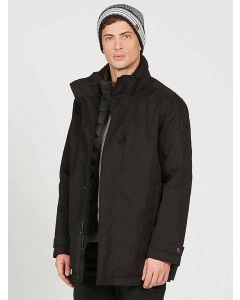 Aigle Darbes Waterproof Coat, Noir