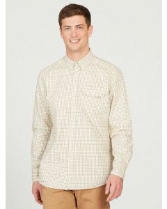 Aigle Huntjack Checked Cotton Country Shirt, New Natural