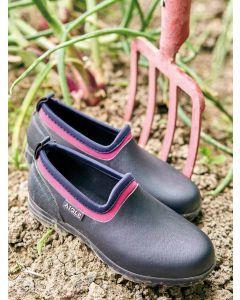 Aigle Lessfor Women's Rubber Gardening Shoe, Marine