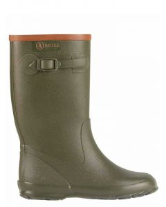 Aigle Children's Perdrix Welly Boot, Kaki Green
