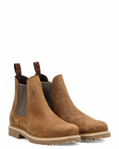 Aigle Darven W Leather Ankle Boot - Brown/Cidre