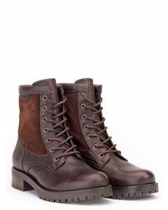 Aigle Lierzon Leather Boot - Dark Brown