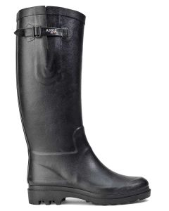 Aigle Women's Aiglentine Welly Boot, Noir
