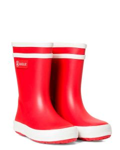 Aigle Baby Flac Children's Wellies, Rouge