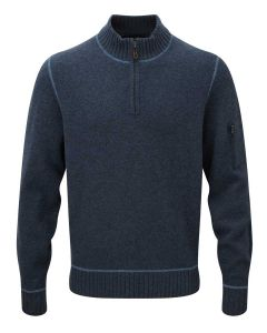 Alan Paine Men's Renwick Zip Sweater, Rhapsody