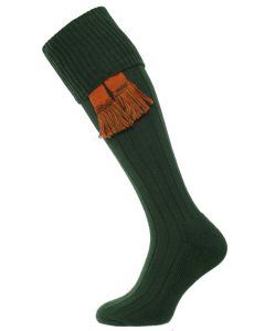 The Allensmore Cotton Cushion Foot Shooting Sock - Conifer