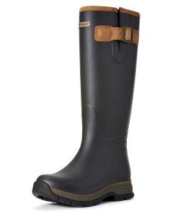 Ariat Women's Burford Waterproof Rubber Boot - Brown