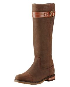 Ariat Women's Stoneleigh H2O Leather Boot, Java Brown